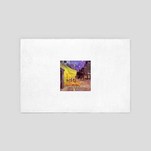 Van Gogh Cafe Terrace at Night 4' x 6' Rug