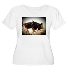 Catnap Plus Size T-Shirt