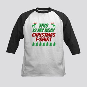 This is my ugly Christmas t-shirt Baseball Jersey