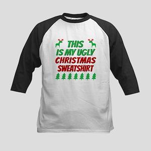 This is my ugly Christmas sweatshi Baseball Jersey