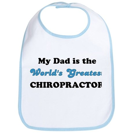 Dad World's Greatest Chiro Bib