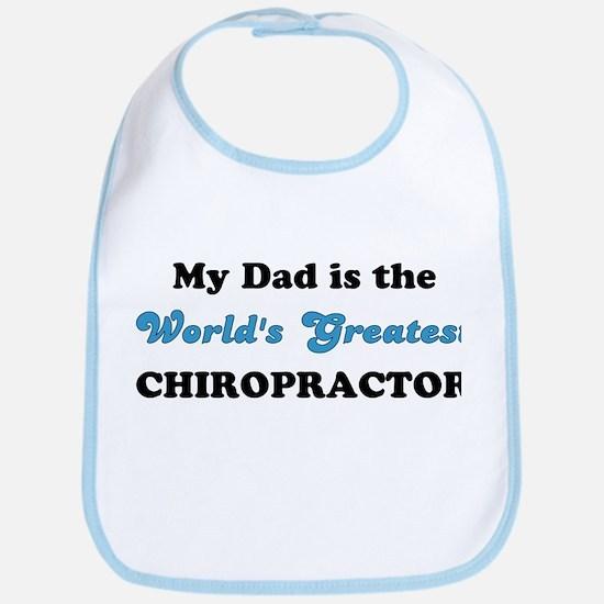 Dad World's Greatest Chiro Bib