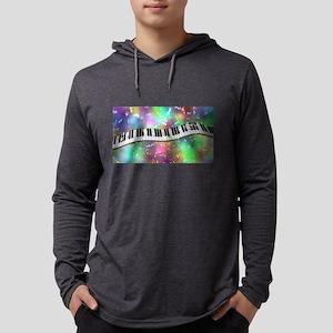Rainbow Keyboard Long Sleeve T-Shirt