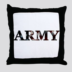 Army (Flag) Throw Pillow