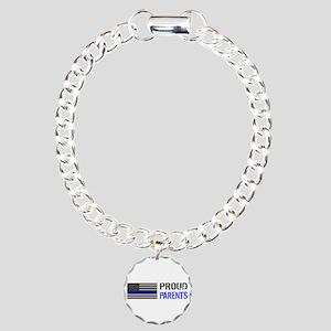 Police: Proud Parents Charm Bracelet, One Charm