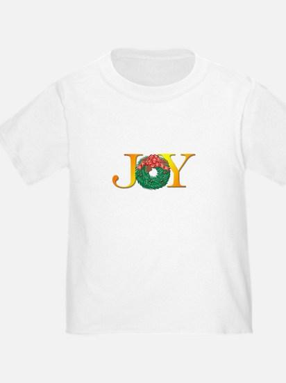 Joy Christmas Wreath T