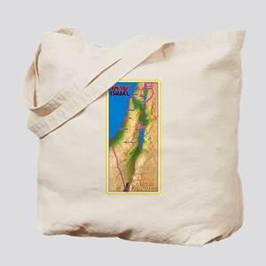 Israel Map Palestine Landscape Border Jew Tote Bag