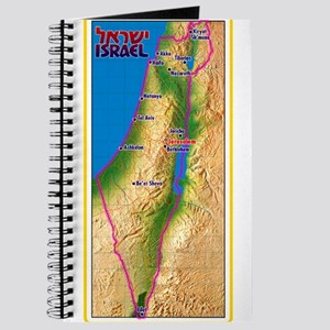 Israel Map Palestine Landscape Border Jewi Journal