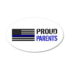 Police: Proud Parents Wall Decal