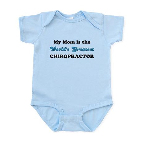 Mom World's Greatest Chiro Infant Bodysuit