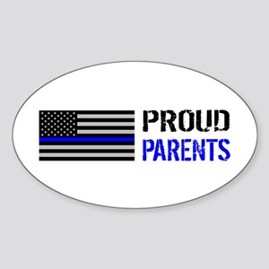 Police: Proud Parents Sticker (Oval)