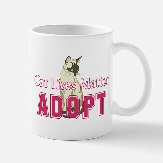 Cat Lives Matter Mugs