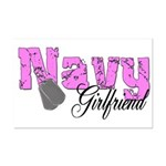 Navy Girlfriend  Mini Poster Print