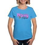 Navy Girlfriend Women's Dark T-Shirt