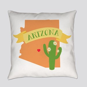 Arizona Cactus Blossom Everyday Pillow