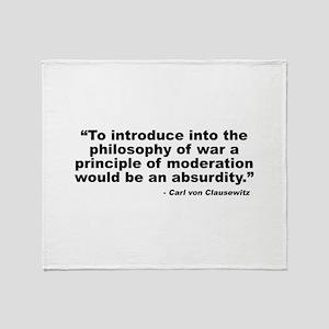 Clausewitz: Moderation Throw Blanket