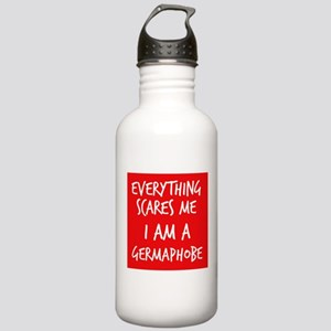 Everything Scares Me I Am A Germaphobe Water Bottl