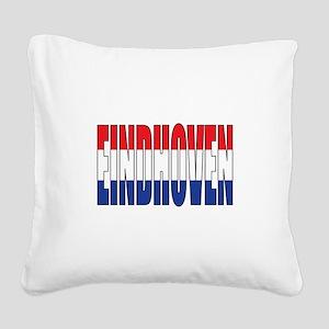 Eindhoven Square Canvas Pillow