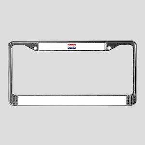 Eindhoven License Plate Frame