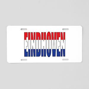 Eindhoven Aluminum License Plate