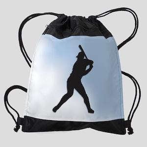 Batter Up Drawstring Bag