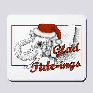 glad tidings Mousepad