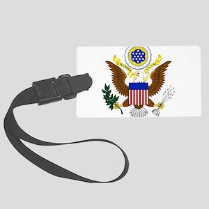 United States Great Seal Emblem Large Luggage Tag