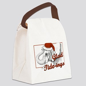 glad tidings Canvas Lunch Bag