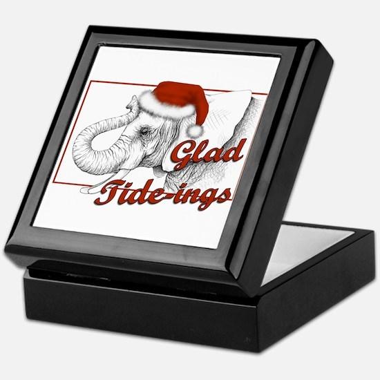 glad tidings Keepsake Box
