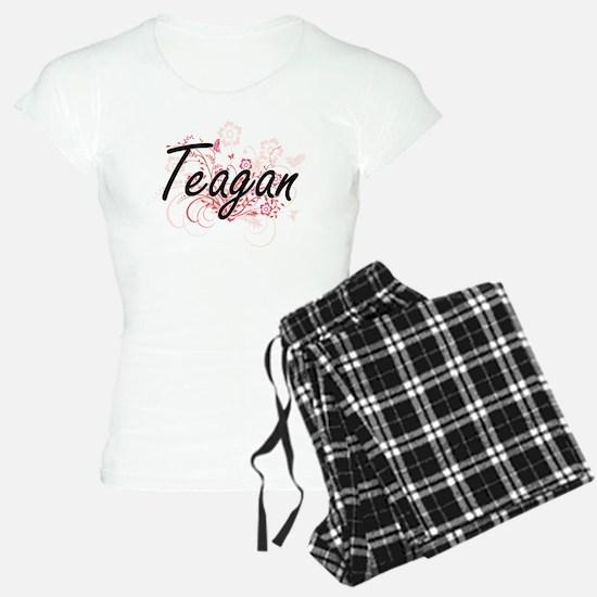 Teagan Artistic Name Design pajamas