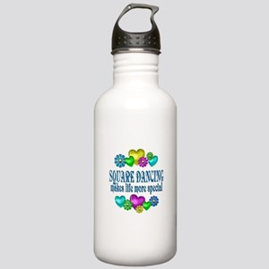 Square Dancing More Sp Stainless Water Bottle 1.0L