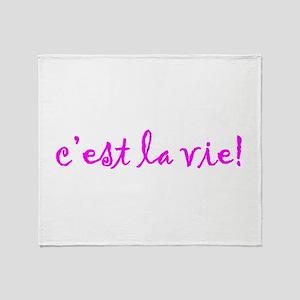 Thats Life! Throw Blanket