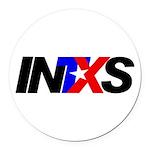 INTXS Round Car Magnet