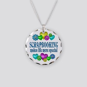 Scrapbooking More Special Necklace Circle Charm
