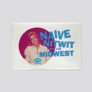 Melrose Place: Naive Nitwit Rectangle Magnet
