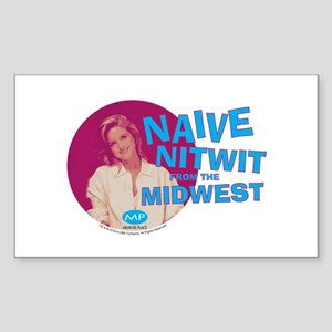 Melrose Place: Naive Nitwit Sticker (Rectangle)