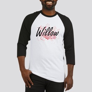 Willow Artistic Name Design with F Baseball Jersey