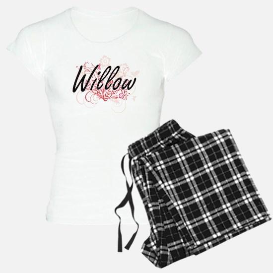 Willow Artistic Name Design Pajamas