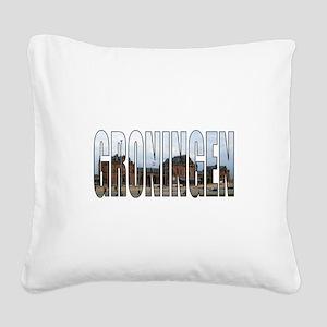 Groningen Square Canvas Pillow