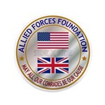 "Allied Forces Foundation 3.5"" Button (100 Pac"
