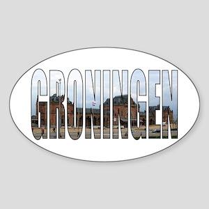 Groningen Sticker