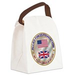 Allied Forces Foundation Canvas Lunch Bag