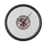 Allied Forces Foundation Large Wall Clock