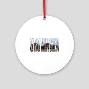 Groningen Round Ornament