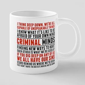 Criminal Minds Quotes Mugs