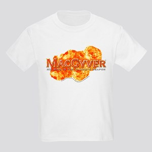 MacGyver Logo Kids Light T-Shirt