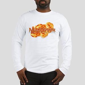 MacGyver Logo Long Sleeve T-Shirt