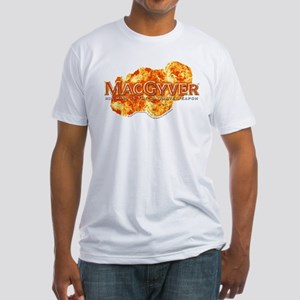 MacGyver Logo Fitted T-Shirt