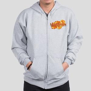 MacGyver Logo Zip Hoodie