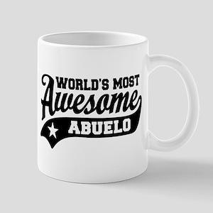 World's Most awesome Abuelo Mug